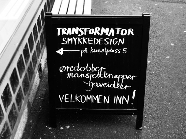 Oslo: Lettering with Chalk