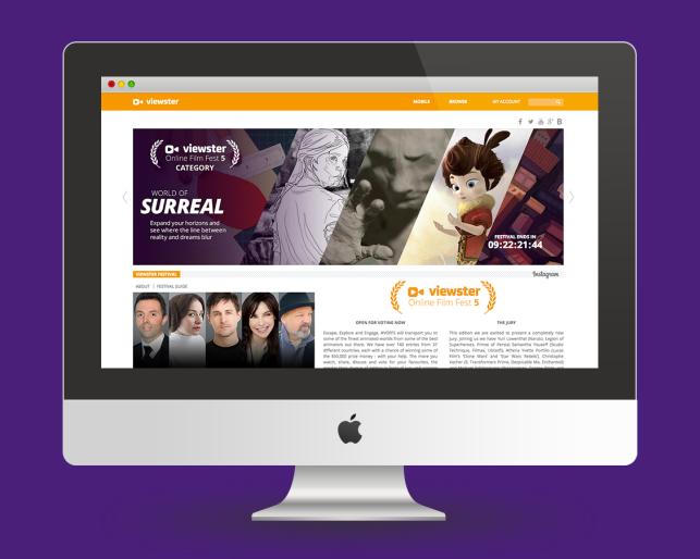 Viewster Online Film Fest